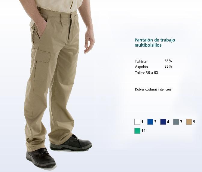 Pantalon de trabajo multibolsillos uniformes de trabajo for Pantalones de trabajo multibolsillos