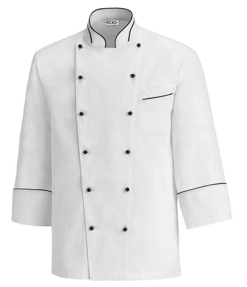 Chaqueta cocina blanca nanotech ropa de trabajo tienda - Uniformes de cocina ...