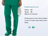PANTALON SANITARIO COLOR