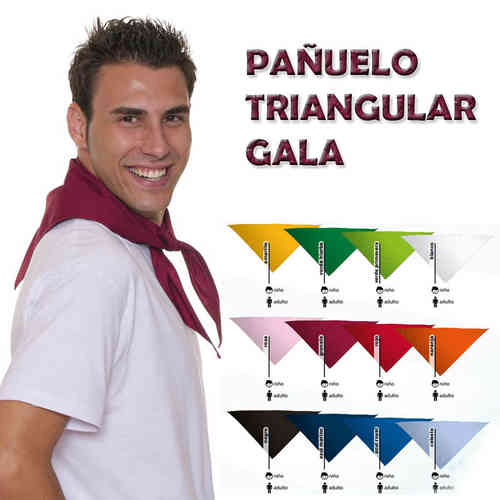PAÑUELO ADULTO TRIANGULAR GALA
