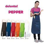 DELANTAL PEPPER NEGRO